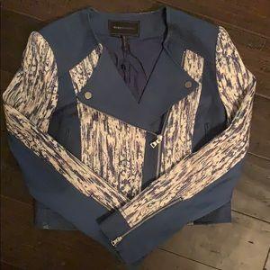 BCBG Maxazria blue jacket